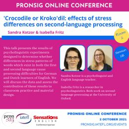 PronSIG Conference 2021