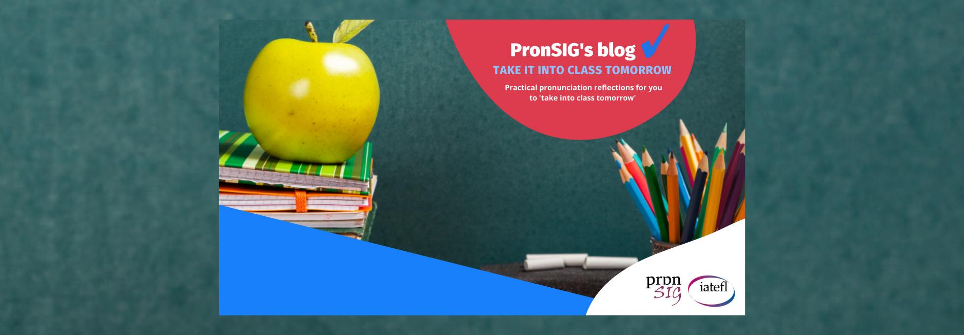 PronSIG's blog
